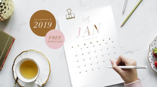 calendário 2019 | freedownload